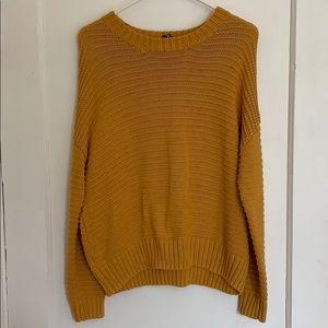 H&M Mustard Sweater 🌾